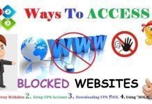 Top 4 Way To Access Blocked Websites