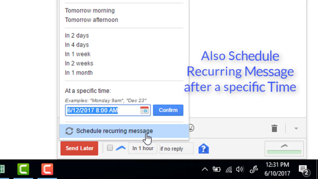 Boomerang for Gmail : Schedule Email to send Gmail