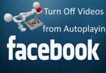 Turn Off Facebook Video Autoplay