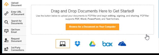 PDF Filler online PDF Editor