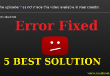 Youtube Videos Not Available in your Country Error Fixed