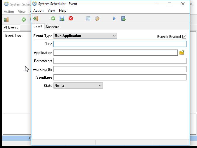 System Scheduler windows task scheduling software