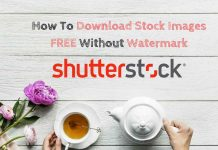 download shutterstock images for free without watermark using facebook