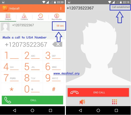 International Call anyone with private number free unlimited