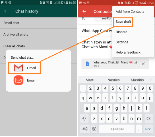 How to Convert WhatsApp Chat Into Text ( txt) Readable Format