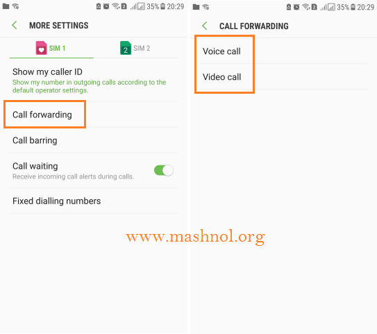 Enable Call Forwarding on iPhone Android Phone