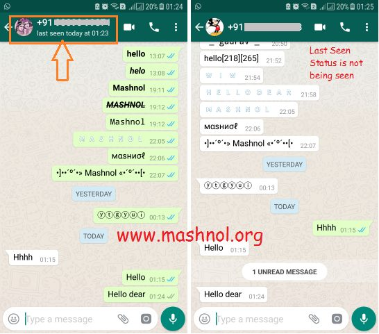 How To Hide Your Last Seen On Whatsapp But Still See Others
