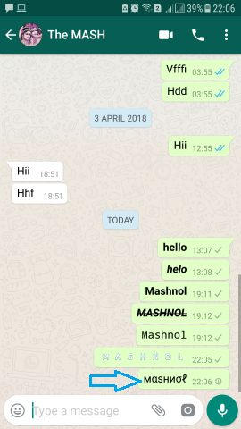 WhatsBlueText Send Colourful WhatsApp message with Stylish Font