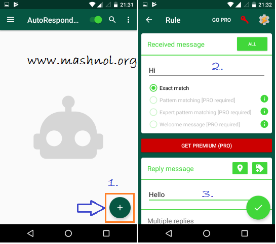 AutoResponder for Whatsapp Auto reply to WhatsApp message