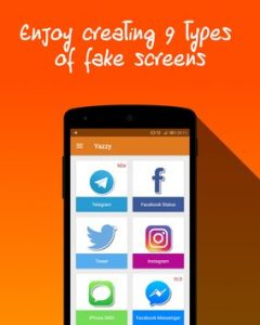 yazzy fake conversations 9 types of fake screens