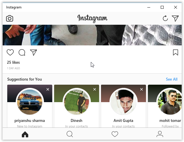 How To Send Direct Message On Instagram from Computer - Mashnol