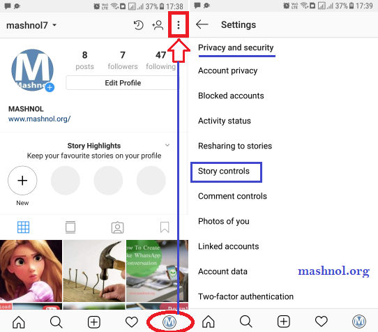 How to hide my Instagram Story from certain followers