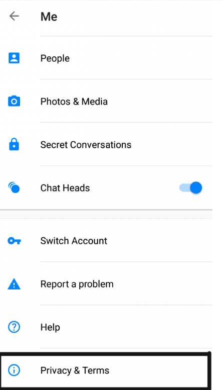 Deactivate Messenger Account after Deactivating Facebook