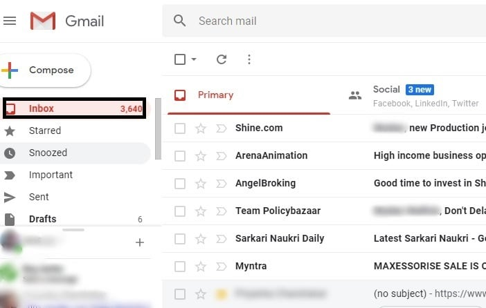 How to mark all emails as read in gmail