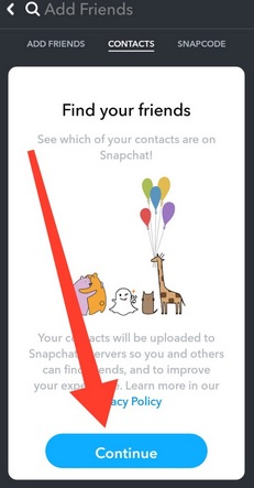 How To Find People On Snapchat