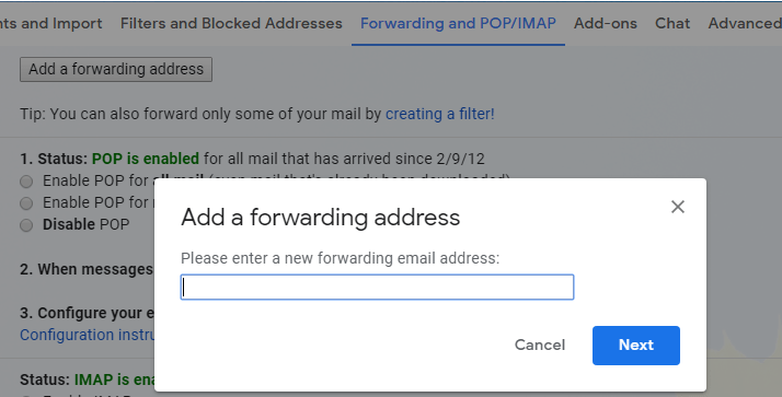 How to auto-Forwarded specific emails