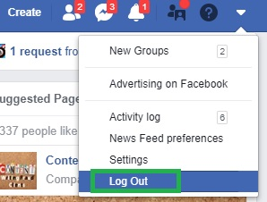 How To Log Out Of Facebook