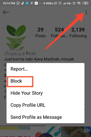 How to Block Or Unfollow Someone On Instagram
